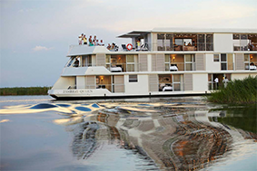 Zambezi Queen luxury houseboat